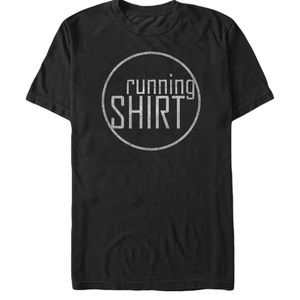NWT Lost Gods Men's Running T-Shirt, Black, Small